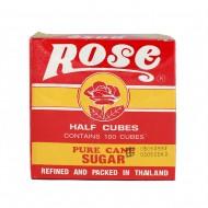 น้ำตาลก้อนโรส